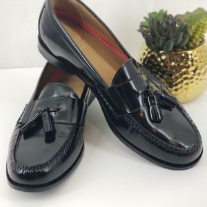 COLE HAAN Pinch Tassel Leather Loafer